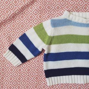 The Children's Place Multi-Colored Striped Sweater